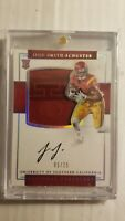 2017 National Treasures JuJu Smith-Schuster RC RPA #/25 jersey auto USC Steelers