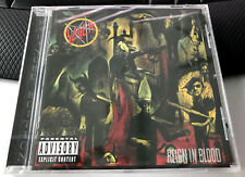 CD SLAYER - REIGN IN BLOOD ( DELUXE VERSION 2 BONUS TRACKS NEU ANGEL OF DEATH )