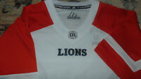 BC LIons CFL Adidas Jersey Mens Size Small NEW