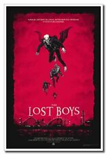 Hot Cool Gift 24x16inch Silk Poster 1987 Old Horror Movie The Lost Boys