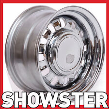 "15x7 15x8 15"" GT 12 Slot wheels w Steel cap Ford Mustang 65 66 67 68 69 Valiant"