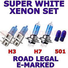 BMW SERIE 7 BERLINA HID 2002-2005 Set H3 H7 W5W 501 LAMPADINE XENON