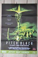 Filmposter Filmplakat A1 DINA1 - Pitch Black - Vin Diesel - Neu
