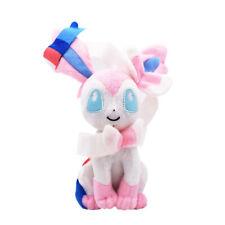 "7"" Evolution Of Sylveon Plush Kids Stuffed Doll Eeveelution Kids Birthday Toy"
