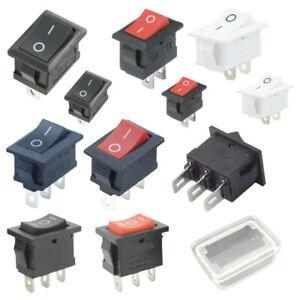 Kippschalter Wippschalter Eckig EIN/AUS 2&3 PIN 12V - 230V / 6A 11x15mm 15x21mm