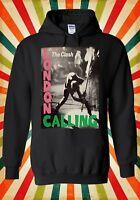 The Clash London Calling Rock Punk Men Women Unisex Top Hoodie Sweatshirt 1877
