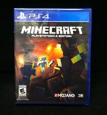 Minecraft: PlayStation 4 Edition  (Sony PlayStation 4) Brand New / Region Free