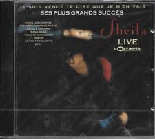 CD 20T SHEILA JE SUIS VENUE TE DIRE QUE JE M'EN VAIS LIVE A L'OLYMPIA 89 NEUF
