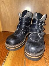 black Geier Wally Alpine Retro Hiking Boot - US women's 6 to 6.5