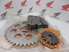 HONDA cb750 Four f2 SUPERSPORT SET DI CATENE CATENA PIGNONE RUOTA DENTATA CHAIN SPROCKET