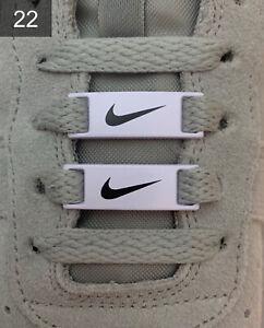 ✅Neue Nike Air Force 1 Schuh Schnallen Buckles Lace Locks 2 Stück✅