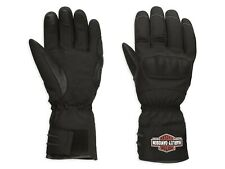 Harley Davidson Mens Legend Waterproof Softshell CE Gloves 98366-17EM