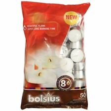 Bolsius Unscented Scented Candles & Tea Lights
