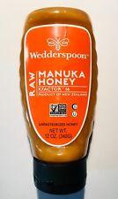 Wedderspoon Raw Manuka Honey KFactor 16 Convenient 12oz - Free Shipping! 12/2022
