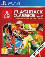 Atari Flashback Classics Collection PS4 Volume 2 Vol. 2 ** Brand New & Sealed **