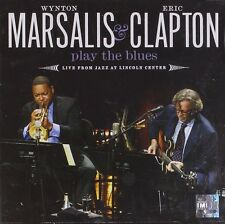 CLAPTON/MARSALIS - PLAY THE BLUES LIVE FROM JA...CD NEW