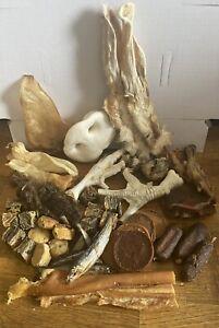 ❌❌40 ITEMS Dog Natural Treat Chew 40 item Selection box 100% natural ❌❌