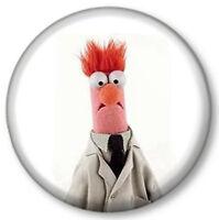 """Beaker 1"""" 25mm Pin Button Badge TV The Muppets Show Sesame Street Puppets Cute"""
