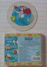 RARE CD WALT DISNEY LA PETITE SIRENE MES CHANSONS PREFEREES 4 TITRES