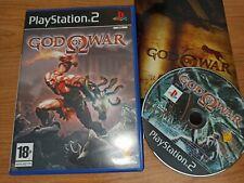 PLAY STATION 2 PS2 GOD OF WAR COMPLETO PAL ESPAÑA CD en excelente estado