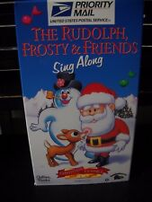 THE RUDOLPH FROSTY & SING ALONG (VHS, 1996, SLIP SLEEVE)