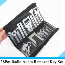 38x Car Interior Radio CD Player Audio Removal Repair Install Release Tool Kit