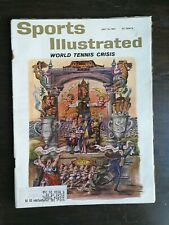 Sports Illustrated July 10, 1961 - World Tennis Crisis - American Road Racing