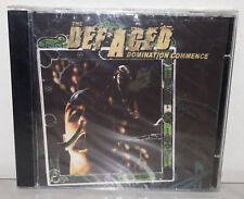 CD THE DEFACED - DOMINATION COMMENCE - NUOVO NEW