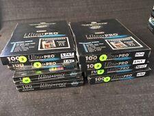 9) 100-Pack Ultra Pro Platinum Series Hologram 3 Pocket Pages - 900 Pages Total
