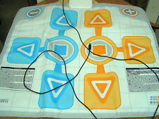 Wii PLUG-IN DANCE MAT BY BANDAI/NAMCO GAMES - MODEL#BC001 - LIGHTLY USED