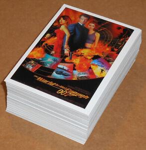 James Bond Classics (2016) ~ COMPLETE 72-CARD BASE SET
