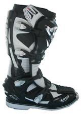 RARE UFO PLAST HERO, MOTOCROSS/ENDURO MX BOOTS, BLACK/WHITE, (UK SIZE 10)