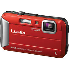 New & Sealed Panasonic Lumix DMC-TS30 16.1MP Waterproof Digital Camera, Red