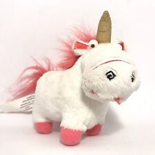 Dispicable Me Fluffy Unicorn Soft Plush Toy Minion Made Movie Character