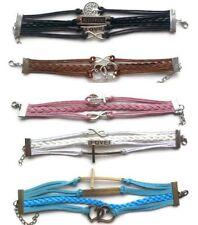 Handmade Alloy Love & Hearts Costume Bracelets