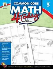 Common Core Math Four Today Workbook GRADE 5 New Condition Home School