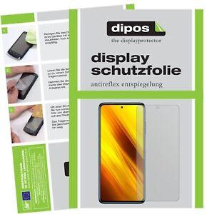 2x Protection pour Poco X3 NFC Film de d'écran protecteur antireflet dipos