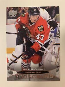 Brandon Saad 2011-12 Upper Deck Young Guns Rookie Card #207 Blackhawks