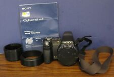 Sony Cybershot DSC-H5 7.22MP Digital Camera - Black - Cyber Shot DSCH5