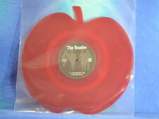"The Beatles-Love me do, Lim. red Apple shaped 7"", NEUF"