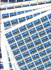 Hongrie MAGYAR Posta 12 feuilles 100TP Ville de Szolnok 1975 5ft