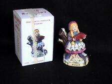 Children Of The World #2005 Poland Christmas Hand Painted Porcelain Figurine