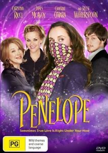 Penelope DVD new Sealed Region 4