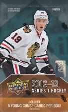 2012-13 Upper Deck Series 1 UD1 Hockey Hobby Box