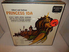 PRINCESS IDA Gilbert Sullivan D'Oyly Carte Opera Godfrey Box Set Sealed 2 LP
