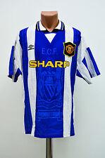 MANCHESTER UNITED ENGLAND 1994/1995/1996 THIRD FOOTBALL SHIRT MAGLIA UMBRO
