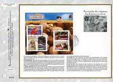 FEUILLET CEF / DOCUMENT PHILATELIQUE / PORTRAIT DE REGION 2008 PARIS COTE 38 €