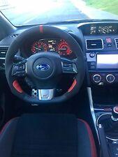 Subaru WRX STI OEM Flat Bottom Thicker Grip Carbon Fiber Steering Wheel