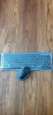New listing Wireless Keyboard and Mouse(Black and Blue) Jelly Comb