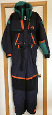 NORTH FACE Extreme TNFX One Piece Ski Suit, Vintage, Men's M Blue Orange Retro